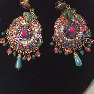 🔥Reduced - Firm Sale🔥Embellished Earrings